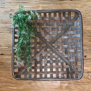 Other - Gray Square Tobacco Basket